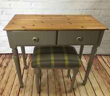 French Polished Dressing/ Hallway Table Plus Stool