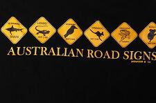 """Aussie Road Signs"" T-Shirt Australian Iconic Images (M)"