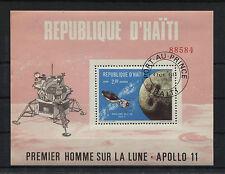 Haiti Block 40 (5 Stück) gestempelt used Apollo 11 Premier Homme Sur La Lune