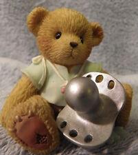 Baby's Christening Boy PROTOTYPE 113591 Cherished Teddies
