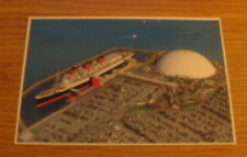 OCEANLINER QUEEN MARY POSTCARD SPRUCE GOOSE LONG BEACH CA