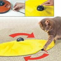 Pet Cat Meow Toy V4 Electronic Interactive Undercover Mouse Cat Kitten Toys T9E1