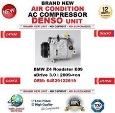 DENSO ARIA CONDIZIONATA COMPRESSORE AC BMW Z4 E89 sDrive 3.0 i 2009- > IN POI
