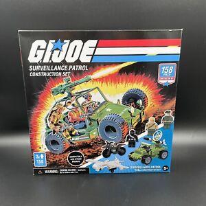 GI JOE SURVEILLANCE PATROL CONSTRUCTION SET HASBRO FOREVER CLEVER 158 PC 2020