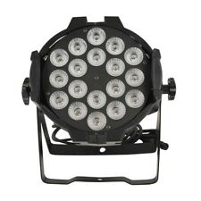 Sound-Active DMX 18X15W RGBWA LED PAR Light PAR 64 Can for Stage DJ Dance Lights