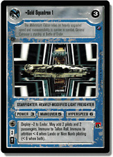 Gold Squadron 1 FOIL [slight wear] REFLECTIONS II star wars ccg swccg