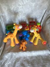 Fisher Price Amazing Animals 2 Giraffe, Elephant, Pony & Train