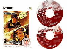 DELTA FORCE BLACK HAWK DOWN GOLD PACK. GREAT FIRST PERSON SHOOTER SET FOR PC!!