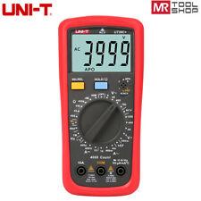 Uni T Ut39c Digital Multimeter Ac Dc Dmm Voltmeter Ammeter Ncv Temp Hfe Test