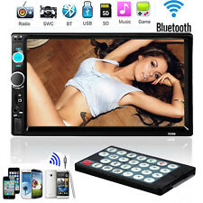 7'' In Dash HD Bluetooth Touch Screen Car Stereo Radio 2 DIN FM/MP5/MP3/USB/AUX