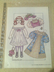Antique Reproduction Paper Dolls [Girl]