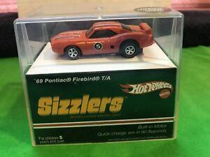 NEW Hot Wheels Sizzlers '69 Pontiac Firebird TA in Orange  - Mint in box!