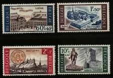 Belgium**Ambiorix statue-Abbey Liège Abbaye-Abdij-4vals-1966-MNH