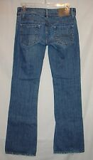 AEO 0 Reg jeans actual= 30x32 inseam low rise, factory distressing 1% spandex XC