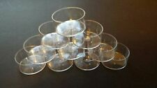 Clear Polycarbonate Plastic Tealight Candle Cups ~ 50 count
