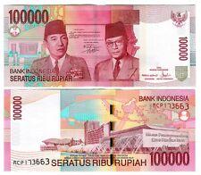Indonesia 100000 100.000 Rupiah 2004/2008 Unc P 146 D