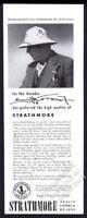 1947 Emil J. Kosa Jr photo Strathmore artist paper & boards vintage print ad