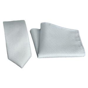 Men 6CM Skinny Jacquard Necktie Pocket Square Handkerchief Hanky Wedding Set