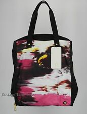 NEW LULULEMON Bring It Om Tote Bag Pigment Wind Berry Rumble Black NWT FREE SHIP