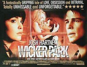 Wicker Park Original Movie Poster
