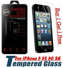 GENUINE GORILLA TEMPERED GLASS FILM SCREEN PROTECTOR FOR APPLE IPHONE 5 5S 5C SE