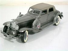 Franklin MINT modello di auto 1:24 Duesenberg SJ twenta Grand 1933, mattoncini, TOP