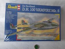 REVELL 4163-De Havilland cioè 100 vampiri Mk. 5-OVP-KIT 1: 72