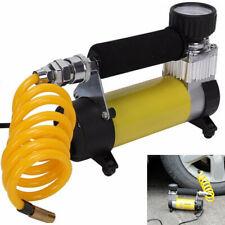 Car Portable Pump Tire Air Compressor 12V 150 PSI Inflator Pressure Gauge Tool