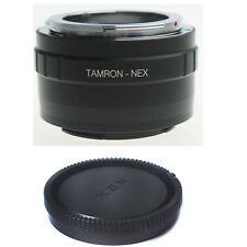 Tamron Adaptall 2 AD2 Lens To Sony NEX E mount Adapter A7 A7R A6000 A5000 +CAP