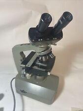 New listing Vintage Bristoline 2002 Binocular Microscope in Original wood Case.