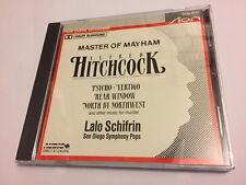 HITCHCOCK: MASTER OF MAYHEM (Lalo Schifrin, SDSP) OOP Soundtrack Score OST CD NM