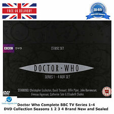 Doctor Who Collection Series 1-4 Box Set David Tennant, John Simm, NEW UK R2 DVD