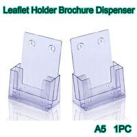 A5 Leaflet Holders Counter Stands Brochure Dispenser Wall Displays Flyer Menu AU