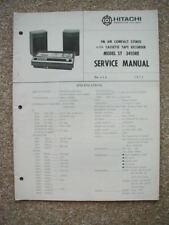 service manual for Hitachi ST-3410RE