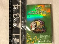 Disney Passholder Halloween Party 2015 Chip and Dale LE 5000 Pin