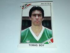 FIGURINA PANINI MEXICO 86 n°121 TOMAS BOY MEXICO rec WORLD CUP