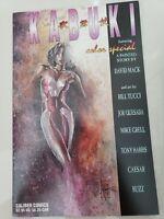 KABUKI COLOR SPEICAL #1 (1996) CALIBER COMICS DAVID MACK! QUESADA! TUCCI! HARRIS