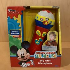 Mickey Mouse Clubhouse My First Microphone NEW IN BOX SING A LONG HOT DOG SONG