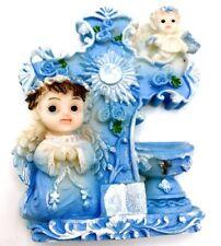 12 Baptism Favors Christening Keepsake Recuerdos Para Bautizo ComunionCross Blue