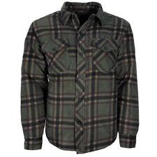 Mens Buffalo Quilted Lumberjack Padded Fleece Shirt | Jacket