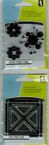 Inkadinkado Acrylic & Cling stamps~Many varieties to choose from~New added!