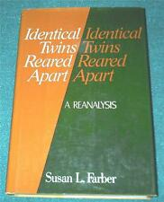 SUSAN FARBER Identical Twins Reared Apart: A Reanalysis, HB/DJ (PSYCHOLOGY)