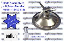 Braun Blender Blade Assembly 4184 4186 - 7322310944 - 4184625 BR64184625 - NEW