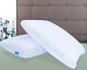 SERTAPEDIC FIRM PILLOWS, SET OF 2, KING SIZE HYPOALLERGENIC MACHINE WASHABLE