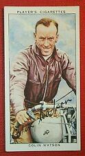 Wembley Speedway Rider   Watson  JAP    Original 1930's Vintage Card