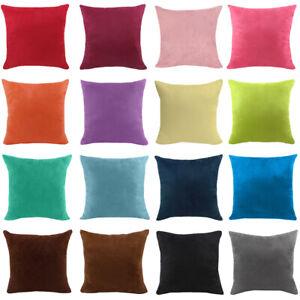 Kissenbezüge Weiche Kissenbezug Büro Home Car Sofa Dekoration Mehrfarbig