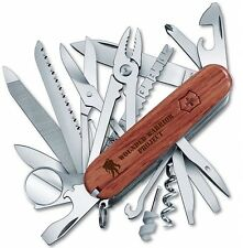 Victorinox Swiss Army Swiss Champ Wood With Wounded Warriors Project 55076.US2