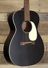 Martin 2015 000-17 Floor Demo Model Guitar Black Smoke Satin Finish W/ Case