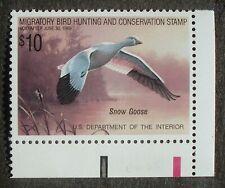 Us # Sc Rw55 Duck Stamp Og 1989