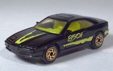 "Matchbox 1992 BMW 850i 3"" 1:62 Black With Gold Rims"
